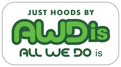 Just Hoods logo